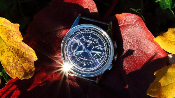 blue, sun, ray, univaque, watches, autumn, herbst, armbanduhr
